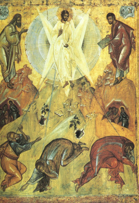 Theophanes Greek. The Transfiguration Of The Lord