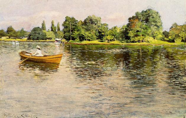 William Merritt Chase. Summer