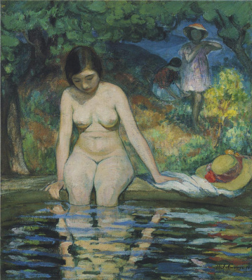 Henri Lebasque. Bather