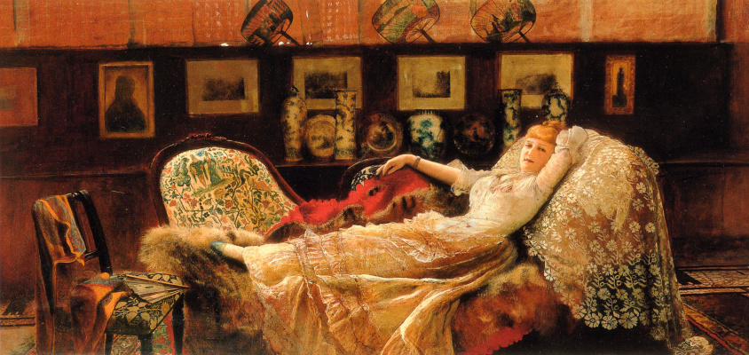 John Atkinson Grimshaw. Day dream
