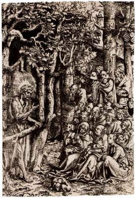Лукас Кранах Старший. Проповедь Иоанна Крестителя