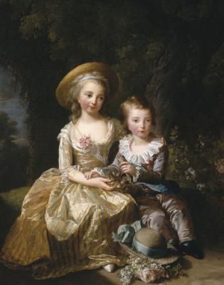 Elizabeth Vigee Le Brun. Children Of Marie-Antoinette
