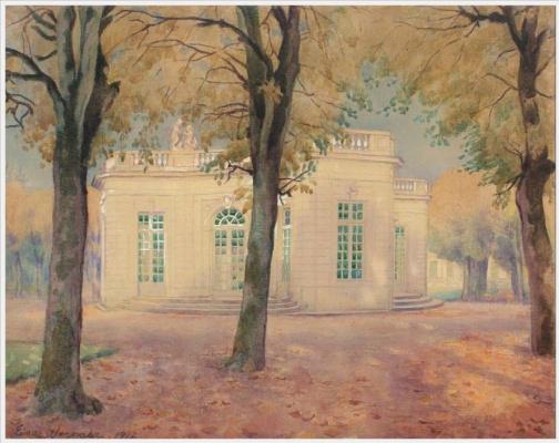 Einar Wegener (Lily Elbe). Pavilion Française Trianon