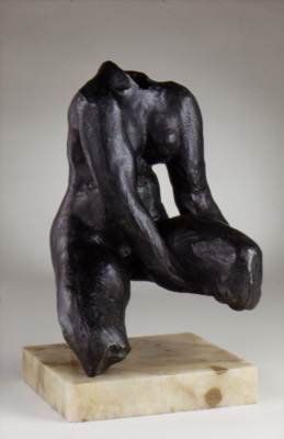 Auguste Rodin. The Torso Of Morhardt