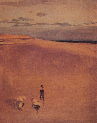 James Abbot McNeill Whistler. The beach at Selsey bill
