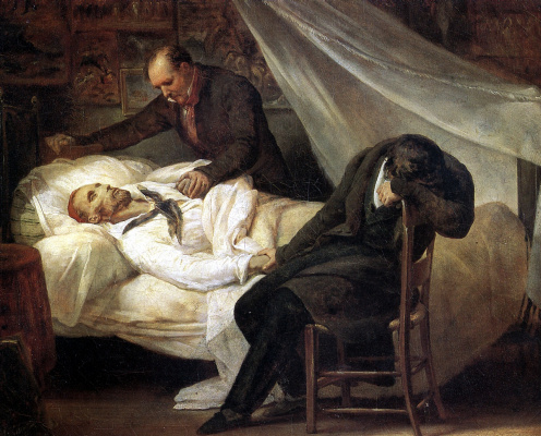Ari Schaeffer. The Death Of Géricault