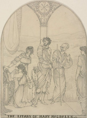 Aubrey Beardsley. Litany of Mary Magdalene