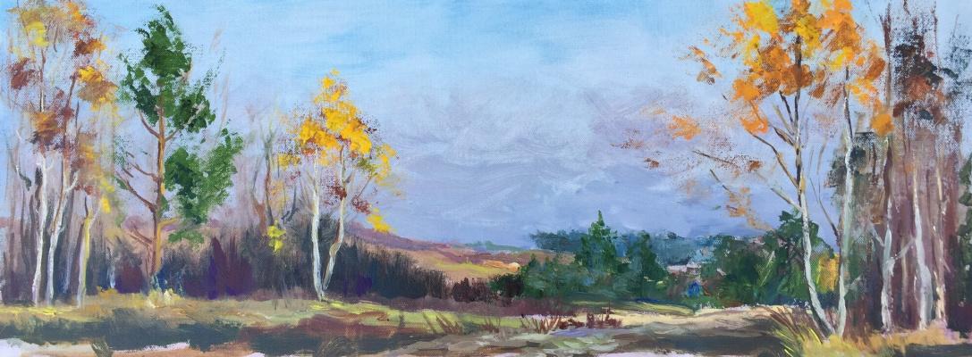 Olga Leonidovna Yaroslavtseva. On the Sunset
