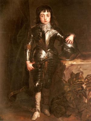 Антонис ван Дейк. Портрет Карла Второго Когда был принцем Уэльским