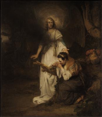 Карел Фабрициус. Явление ангела Агари