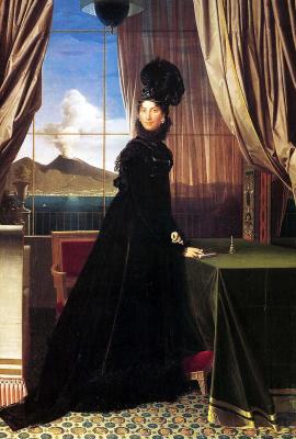 Jean Auguste Dominique Ingres. Caroline Murat, Queen of Naples