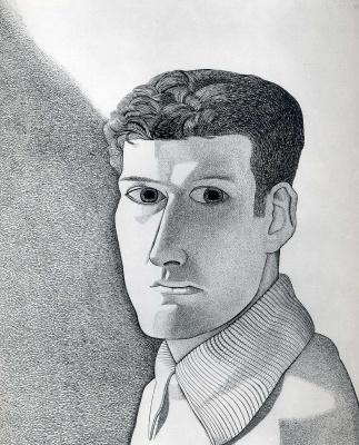 Lucien Freud. Man night