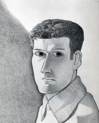 Люсьен Фрейд. Мужчина ночью