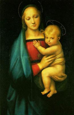 Рафаэль Санти. Мадонна Грандука