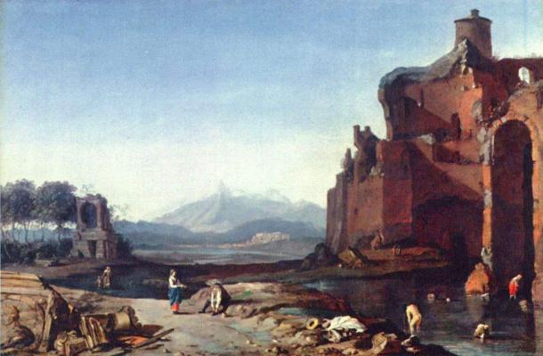 Бартоломеус Бренберг. Итальянский пейзаж