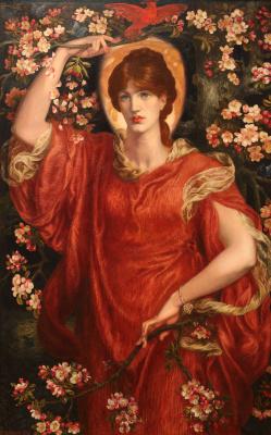 Dante Gabriel Rossetti. Vision Fiammetta (Vision Fiammetta)