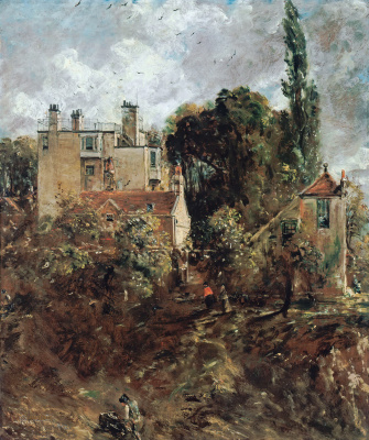 John Constable. Grove house, Hampstead