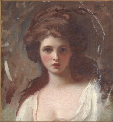 George Romney. Emma Heart in the image of Circe