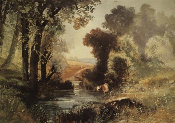 Alexey Savrasov. Summer landscape