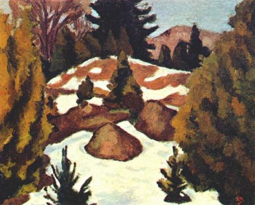 Эдвин Холгейт. Таяние снега