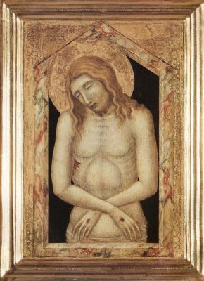 Pietro Lorenzetti. The man of sorrows