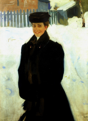 Alexander Murashko. Portrait Of L. F. Caxinos
