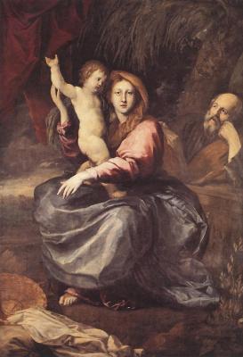 Пьер Пьюджет. Святое семейство