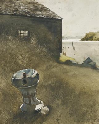Jamie Wyeth. Landscape
