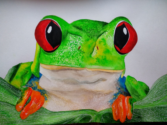 Elena Sergeevna Makarova. Frog