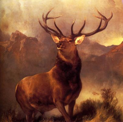 Edwin Henry Landseer. Horns