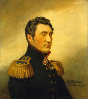 George Dow. Portrait of Fyodor Vasilyevich Sazonov