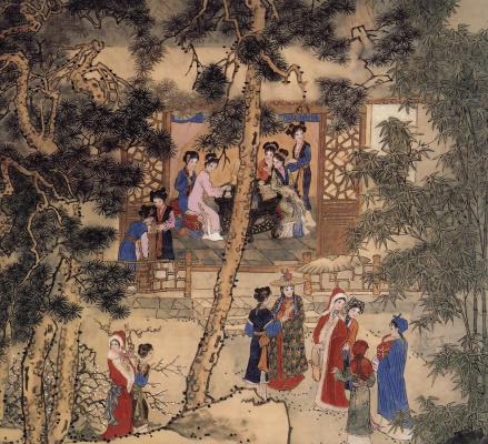 Пэн Лиан Сюй. Китаянка 15