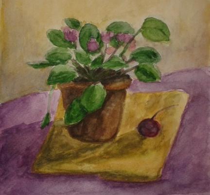 Zina Vladimirovna Parisva. Violet
