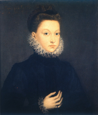 Sofonisba Anguissola. Isabella Clara Eugene