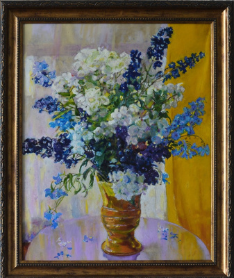Igor Dubenko. Phlox and delphinium (copy)
