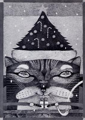 Джеймс Эндикотт. Рождественский кот