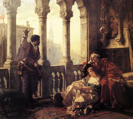 Карл Фридрих Людвиг Беккер. Отелло, касающийся его приключениях Дездемоне
