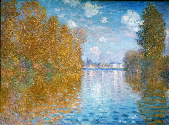 Claude Monet. Autumn in Argenteuil