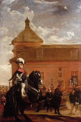 Диего Веласкес. Урок верховой езды принца Бальтазара Карлоса