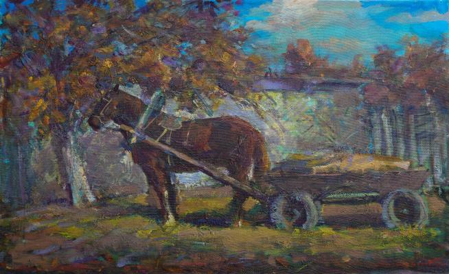 Igor Eduardovich Vasilevsky. Horse