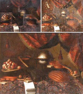 Bartolomeo bettera. Art Conservation & Restoration Painting. Painting oil on canvas. Art studio Sergey Konstantinov San Francisco.