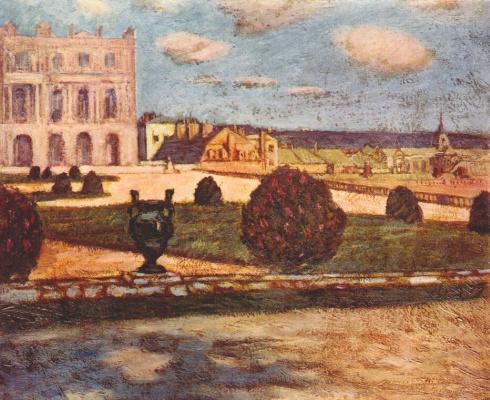 Такедзи Фудзисима. Версальский пейзаж