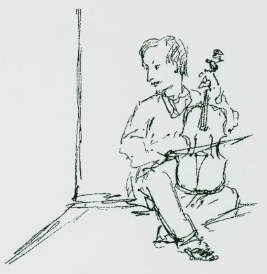 Ivan Aivazovsky. Self-portrait