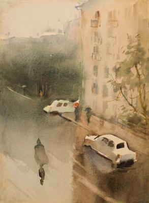 Мария Владимировна Мыслина. Дождь в Москве