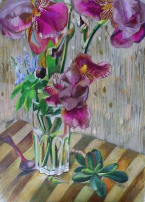 Sophia Khasanova. Irises