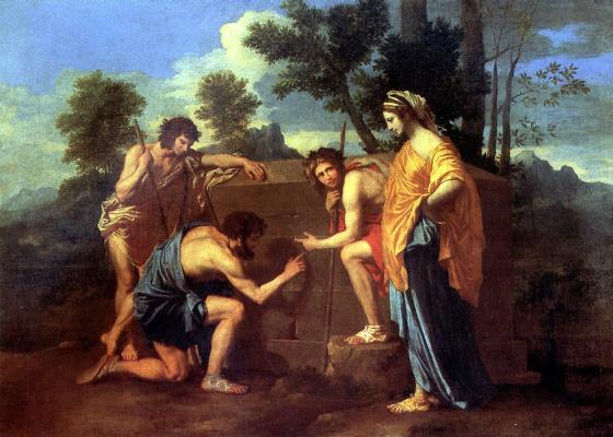 Nicola Poussin. Arcadian shepherds