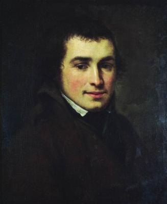 Alexander Grigorievich Varnek. Portrait of the artist Alexander Vasilyevich Stupin. State Tretyakov Gallery, Moscow