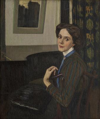 Portrait Of Tatiana Platonova, Too Late