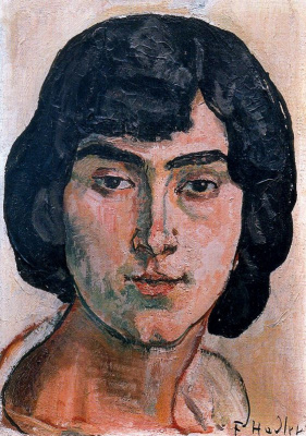 Фердинанд Ходлер. Портрет женщины