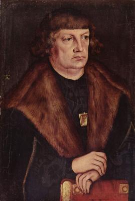 Lucas Cranes the Elder. Portrait of burgomaster Weissenfels